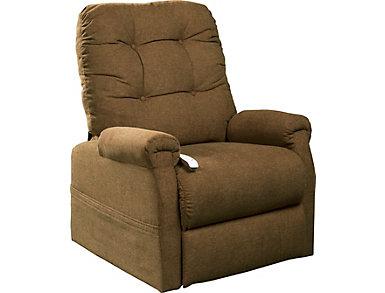 Follett Lift Chair, Beige, Beige, large