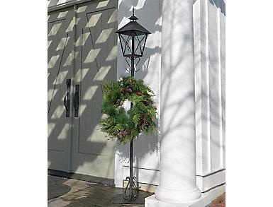 "43"" Lantern Wreath Holder, , large"