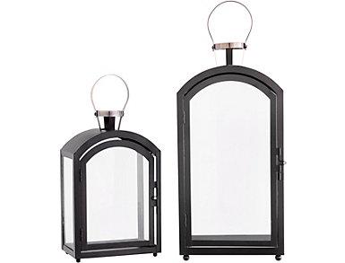 Set of 2 Modern Lanterns, , large