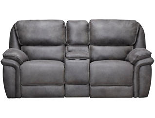 Ero Power Reclining Loveseat, Grey, , large
