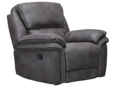 Ero Grey Rocker Recliner, , large