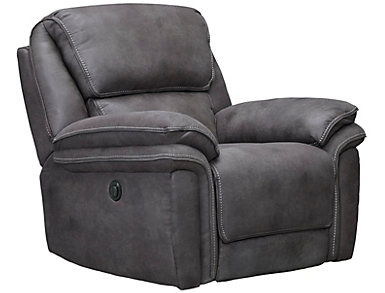 Ero Power Recliner, Grey, , large