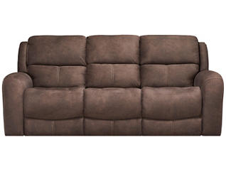 Gibson Reclining Sofa, Chocolate, , large