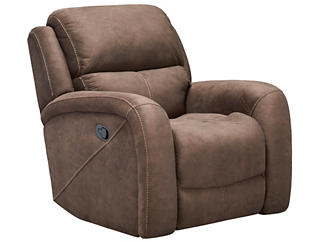 Gibson Recliner, Chocolate, , large