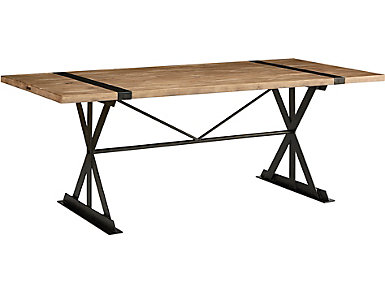Truss and Strap Dining Table, , large