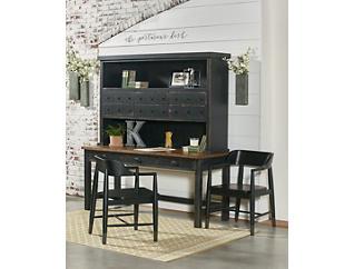 """Postman's 68"""" Distressed Chimney Desk, , large"""