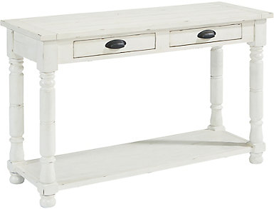 Bobbin Sofa Table, White, , large