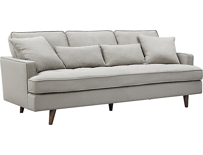 Pleasing Mcm Seagull Sofa Art Van Home Andrewgaddart Wooden Chair Designs For Living Room Andrewgaddartcom