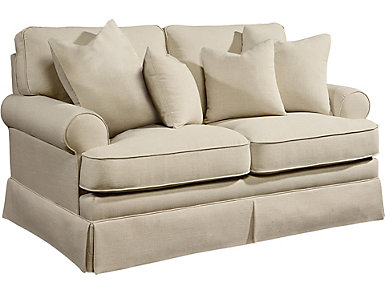 Heritage Loveseat, Linen, , large