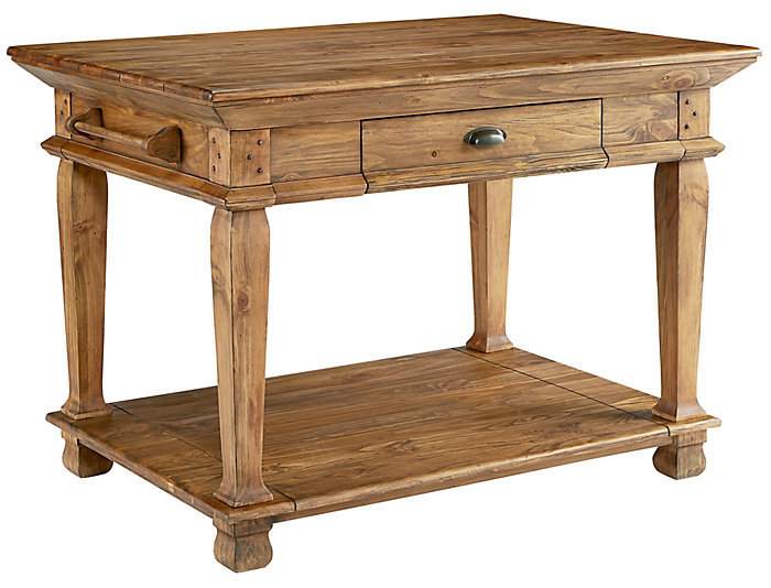 Swedish Farm Kitchen Island, , large