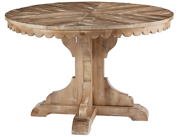 Top Tier Round Pedestal Table, , large