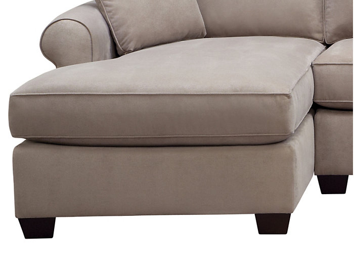 Marisol III 3-Piece Dual-Chaise Sectional, Light Grey, , large