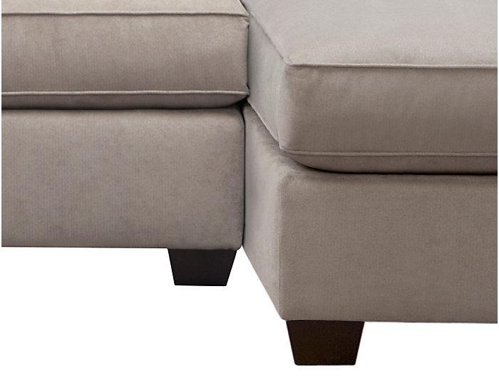 Marisol III 2-Piece Left-Arm Facing Sofa Sectional, Light Grey, , large