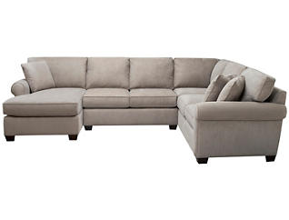 Marisol III 2-Piece Right-Arm Facing Sofa Sectional, Light Grey, , large