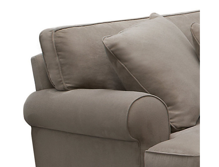 Marisol III 5-Piece Right-Arm Facing Chaise Sectional, Light Grey, , large