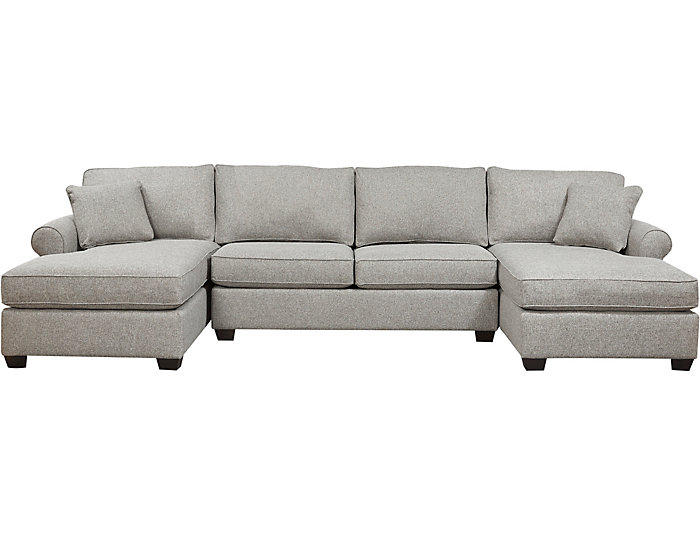 Enjoyable Marisol Iv 3 Piece Dual Chaise Sectional Andrewgaddart Wooden Chair Designs For Living Room Andrewgaddartcom