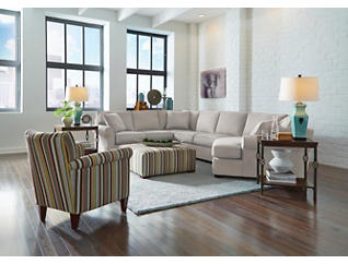 Marisol IV 3 Piece Left-Arm Facing Great Room Sectional, , large