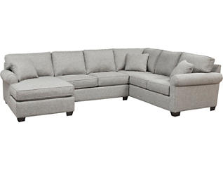 Marisol IV 3 Piece Right-Arm Gathering Sectional, , large