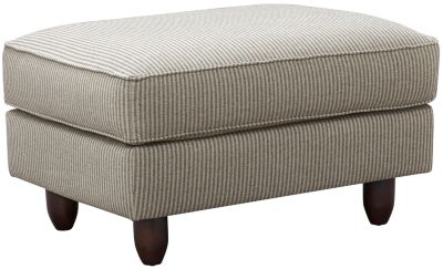 Stripes Ottoman, Granite, swatch