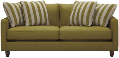 "Stripes 80"" Sofa, Chartreuse, swatch"