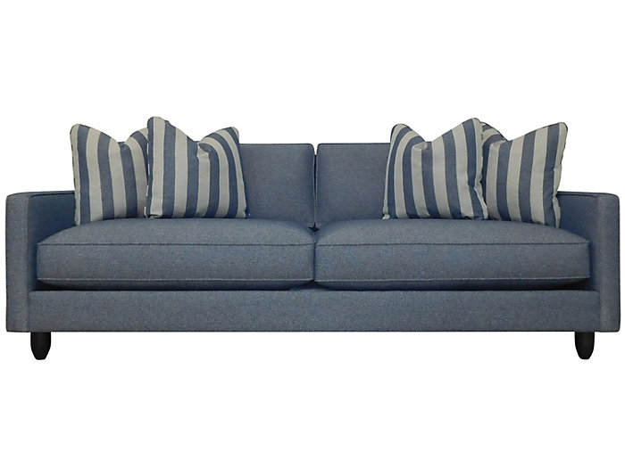 Stripes Sofa, Blue, Blue, large