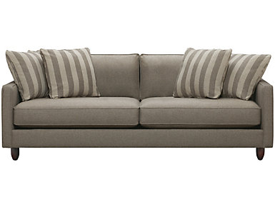 Stripes Sofa, Granite, large