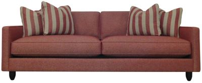 Stripes Sofa, Red, swatch