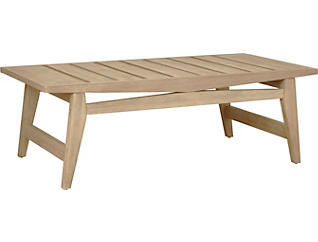 Portsmouth Washed Grey Coffee Table, , large