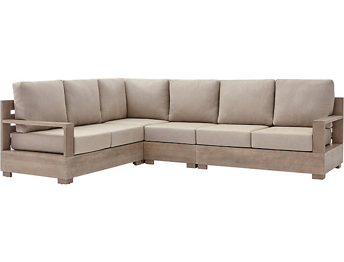 Nigel Barker 4pc Sectional, , large