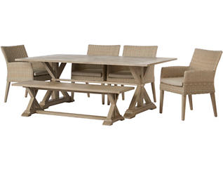 Portsmouth 6 Piece Dining Set, , large
