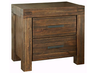 Meadowbrook 2Drawer Nightstand, , large