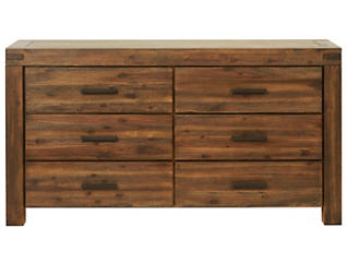 Meadowbrook 6 Drawer Dresser, , large