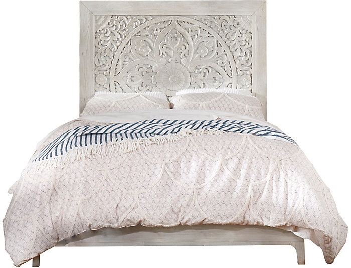 Boho Chic Washed Bed