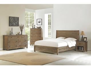 Malone King 4pc Bedroom Set, , large