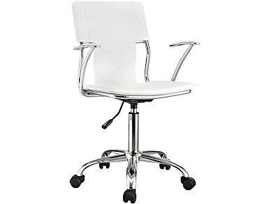 Oderweg White Desk Chair