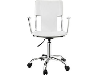 Oderweg White Desk Chair, , large