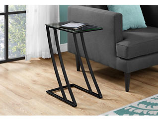 Zane Black End Table, , large