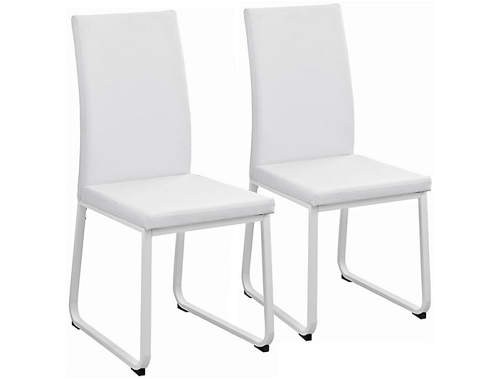 Berg White Chair Set Of 2 Large