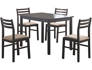 Borodin 5-Piece Dining Set, , large