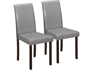 Brahms Grey Chair Set of 2, , large