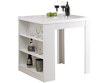Jana White Counter Table, , large