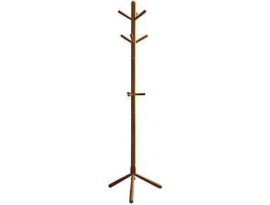 "Draco 69"" Oak Coat Rack, Oak, , large"
