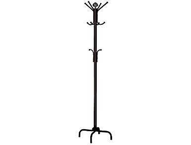 "Neptune 70"" Coat Rack, Black, , large"