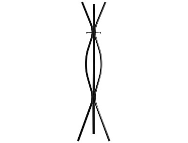 Cosmo Coat Rack, Black, , large