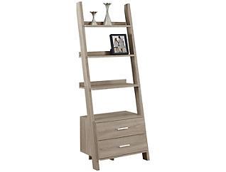 "Harry 69"" Taupe Ladder Shelf, , large"