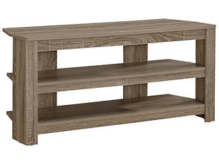 "Ode 42"" Taupe Corner TV Stand, , large"