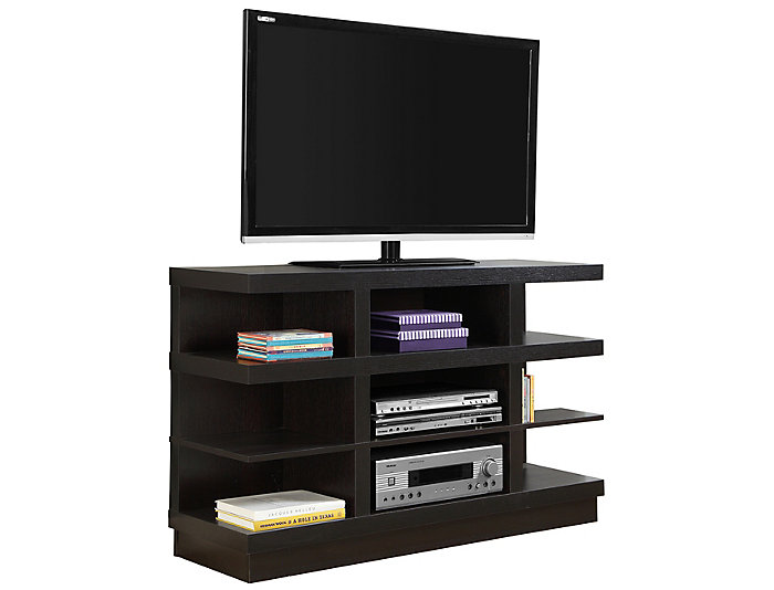 Gwen 48 Brown Tv Stand Art Van Home