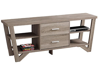 Sedgwick Dark Taupe TV Stand, , large