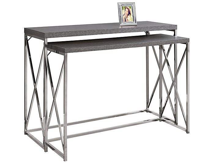 ... Jo Nesting Console Table, Grey, , Large ...