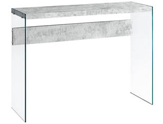 Lily Cement Console Table, , large
